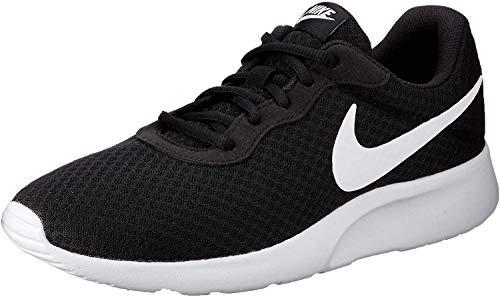 Nike Herren Tanjun Sneaker, Schwarz (011 Black/White), 42.5 EU
