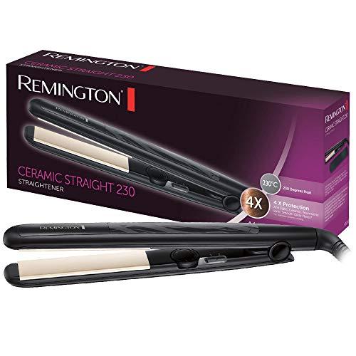 Remington Glätteisen Ceramic Straight (4-facher Schutz: antistatische...