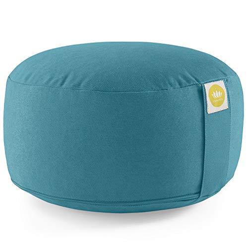 Lotuscrafts Yogakissen Meditationskissen Rund Lotus - komfortable &...