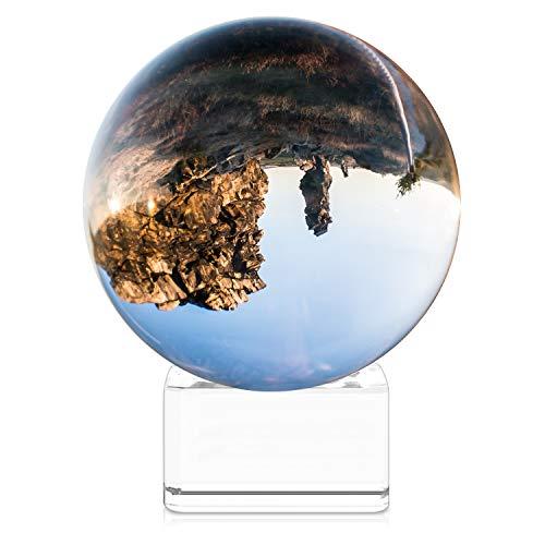 Navaris Glaskugel Fotografie Kugel aus K9 Glas - Fotokugel mit...