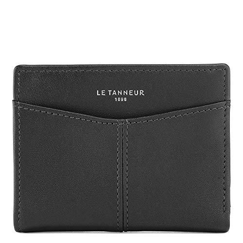 Le Tanneur Damen TOTT3500N01 Reisezubehör- Brieftasche, Schwarz, 7,5...