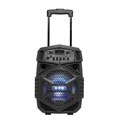Denver Bluetooth-Trolley-Lautsprecher 'TSP-110' mit LED-Beleuchtung,...