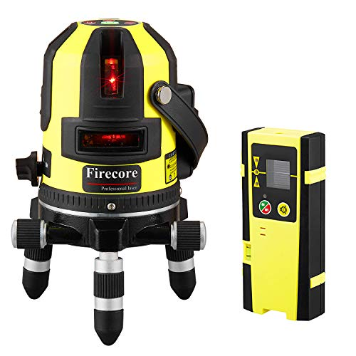 Firecore FIR411R Professional selbstnivellierender Kreuzlinienlaser...
