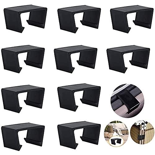10 Stück schwarz Extra Starke Verbinder Patio Möbel Clips Für...