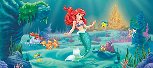 Fototapete FTDNh5320 Photomurals Disney Ariel, 202 x 90 cm, 1-teilig