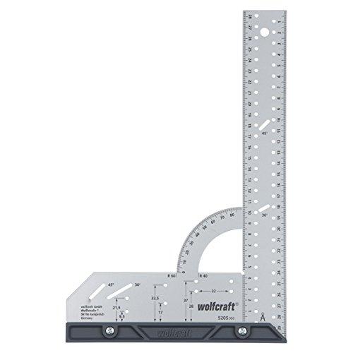 Wolfcraft Universalwinkel 5205000 / Winkelmesser mit 300 mm...
