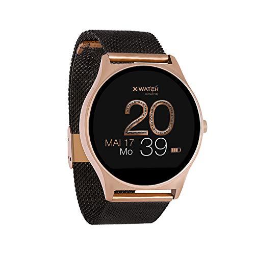 X-WATCH JOLI XW PRO - Smartwatch Damen iOS/iPhone - Fitnessuhr -...