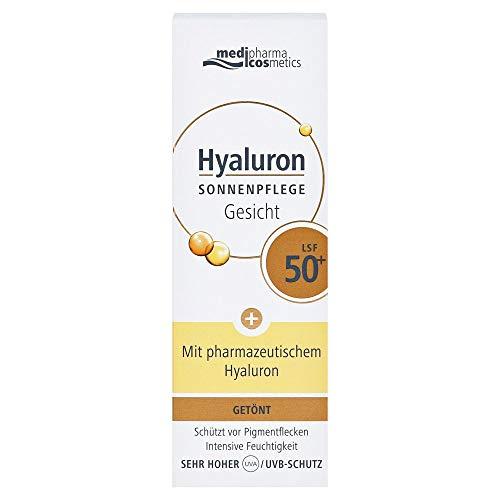 Medipharma Cosmetics Hyaluron Sonnenpflege Gesicht Creme Lsf 50+...
