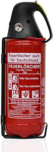 Brandengel Premium Autofeuerlöscher 2kg Pulverlöscher Feuerlöscher,...