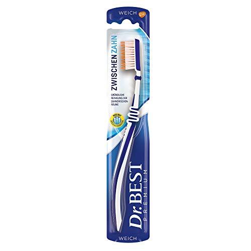 Dr. Best Zwischenzahn Zahnbürste, weich, für eine gründliche...