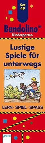 Lustige Spiele für unterwegs: Bandolino Set 49: Kindergarten. Lern -...