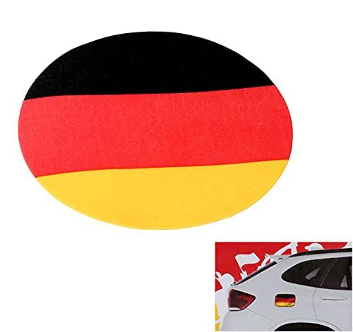 Auto Tankdeckel Bezug Fussball EM Fanartikel Deutschland Flagge Fahne...