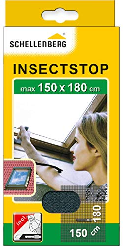 Schellenberg 50329 Fliegengitter für Dachfenster mit Reißverschluss,...