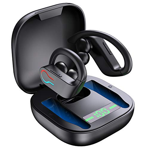 Bluetooth 5.1 Kopfhörer Sport IPX7 Wasserdicht Kabellose...