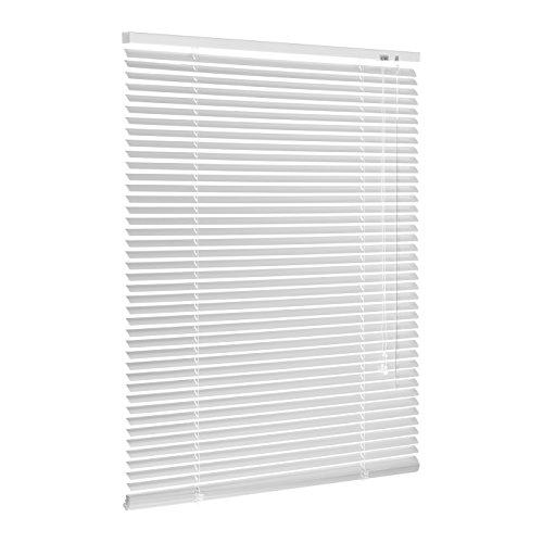 Ventanara Jalousie Aluminium Weiß inklusive Montagematerial mit und...