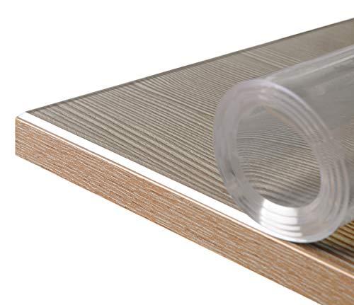 BEAUTEX Glasklar Folie 2 mm + abgeschrägte Kante, transparente...