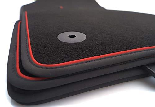 kh Teile Fußmatten passend für Ibiza 5 6F KJ Premium Velours...