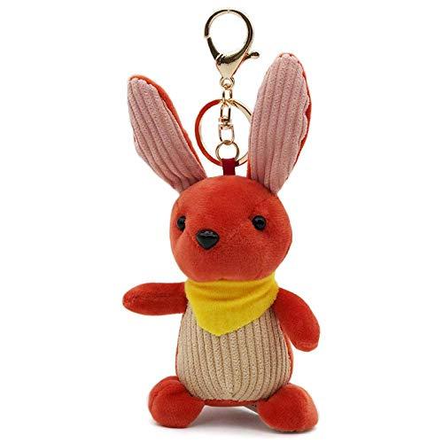 N/Z Mini Rabbit PlüSch Niedlicher SchlüSselbund, Bunny Key Chain Bag...