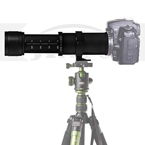 JINTU 420–800mm Super-Telezoom Objektiv Manueller Fokus für Canon...