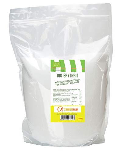 Bio Erythrit - Erythritol natürliche Zuckeralternative 2500g - von...