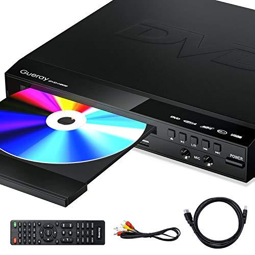 Gueray DVD Player für Alle Regionen Kostenloser Kompakter DVD-Player...