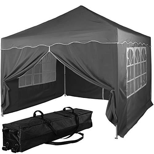 INSTENT® Basic 3x3m Pavillon, WASSERDICHT (SGS geprüft) + UV-Schutz...