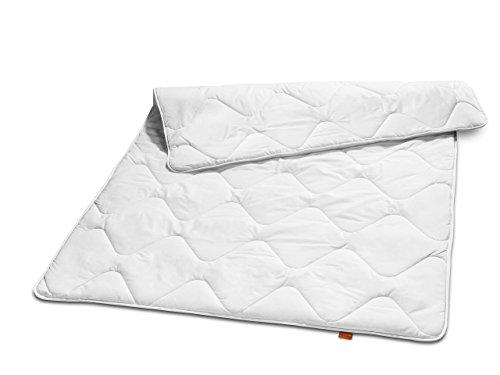 sleepling 190033 Basic 100 Sommer Bettdecke Mikrofaser leicht 135 x...