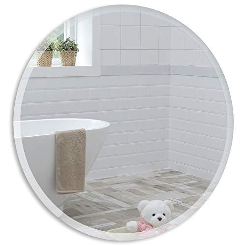 Schöner runder Badezimmerspiegel, modern und stylish, mit...