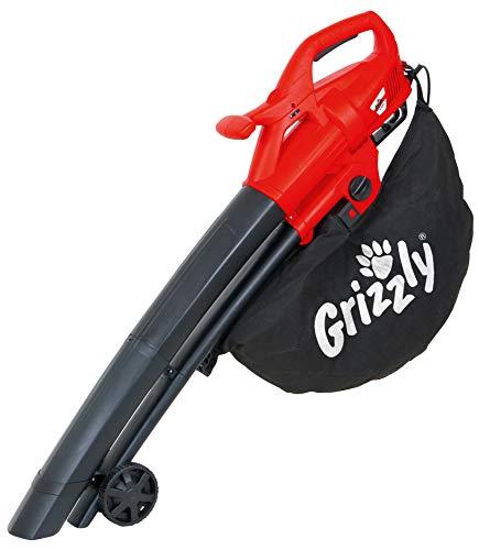 Grizzly Elektro 3in1 Laubsauger Laubbläser Häcksler EL 2800...