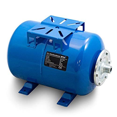 BITUXX® Stahl Membrankessel 24L Druckkessel Hauswasserwerk Kessel...