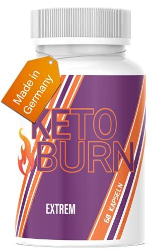 HelloNutrition® KETO BURN EXTREM mit Glucomannan & Cranberry -...