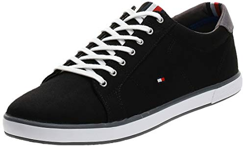 Tommy Hilfiger Herren H2285arlow_1d' Sneaker, Black 990, 45 EU