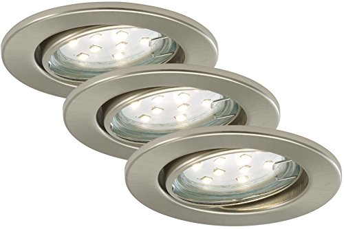 Briloner Leuchten LED Einbaustrahler, Einbauleuchte, Deckenspot, LED...
