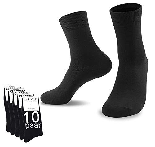 10er-Pack YouShow Socken Herren Damen Unisex Baumwollsocken für...