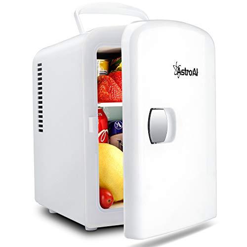 AstroAI 2 in 1 Mini Kühlschrank, 4 Liter Fridge mit Kühl- und...
