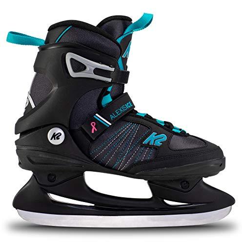K2 Skates Damen Schlittschuhe Alexis Ice — Black - Blue — EU: 41.5...