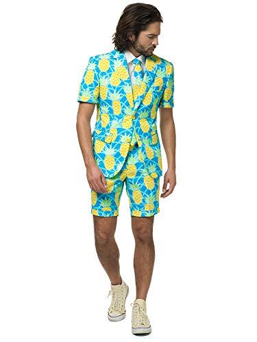 OppoSuits Herren Men Suit Business-Anzug Hosen-Set Inklusive Shorts,...