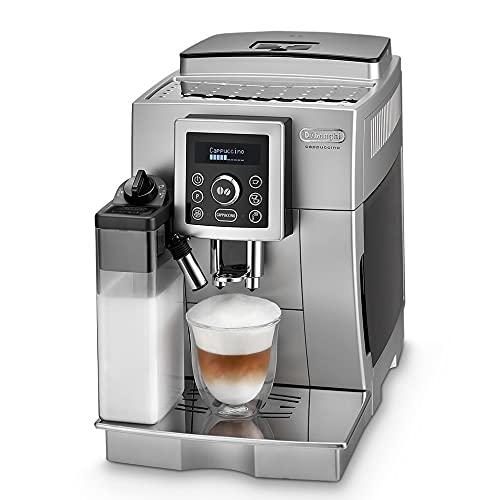De'Longhi ECAM 23.466.S Kaffeevollautomat mit Milchsystem, Cappuccino...