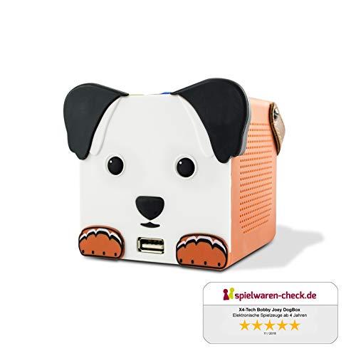 X4-TECH Bobby Joey Dogbox - Bluetooth-Box für Kinder - USB, SD,...