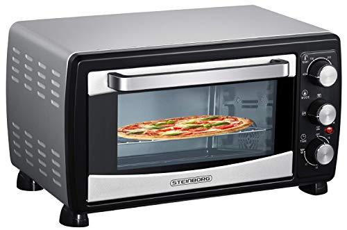 Mini Backofen 20 Liter | Pizza-Ofen | Minibackofen | 3in1 Backofen mit...