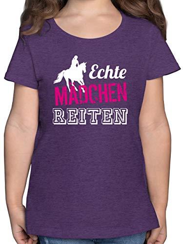 Pferde Geschenk und Reiten Zubehör - Echte Mädchen reiten - 140...