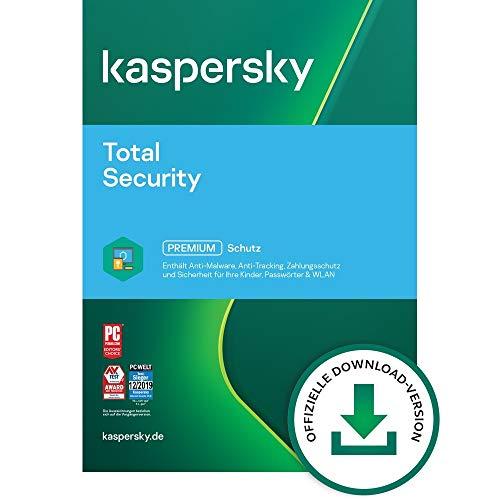 Kaspersky Total Security 2021 Upgrade | 5 Geräte | 1 Jahr |...
