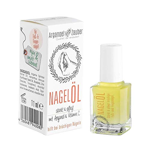 Arganoel-Zauber Nagelöl, Nagelhärter inkl. Pinsel, stärkt & pflegt...