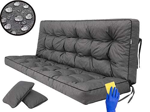 Kissen für Hollywoodschaukel, Gartenschaukelkissen Sitzbank mit...