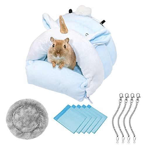 Hamster Haus/Hängen Bett/Käfig Baumwolle Schlaf Nest, Einhorn Bett,...