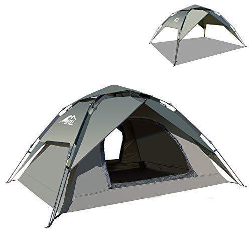 BFULL Instant Pop Up Camping Zelte für 2-3 Personen Familie,...