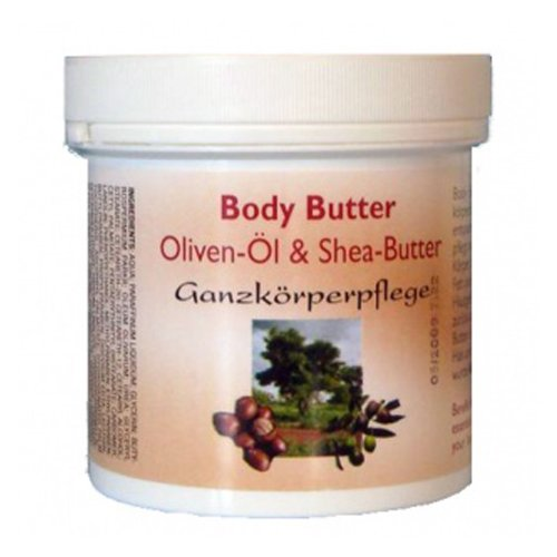 Alwag Body Butter aus Olivenöl und Shea-Butter - 250 ml...