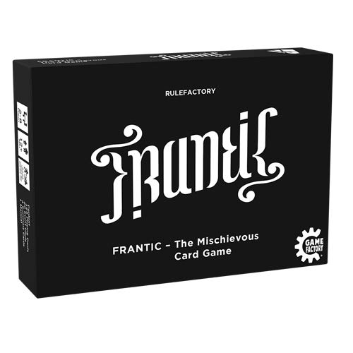 Game Factory 646226 Frantic-The Mischievous Card Game, Kartenspiel,...