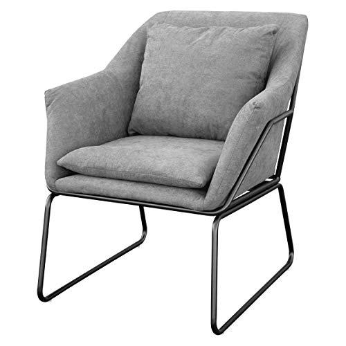 SVITA Josie Sessel gepolstert Beistellsessel Lounge Couch Einzelsofa...