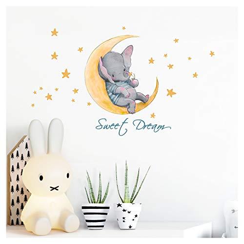 Little Deco Wandtattoo Kinderzimmer Junge Mädchen Spruch Sweet Dream...